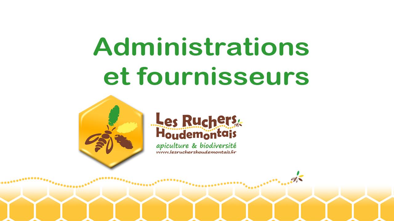 Administrations et fournisseurs